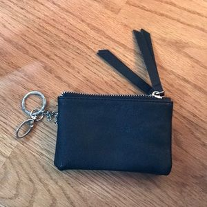 Double pocket small wallet